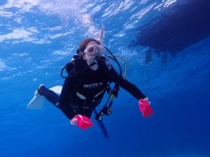 チービシ体験ダイビング 20130319