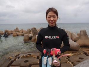 2013.04.16 体験ダイビング 砂辺