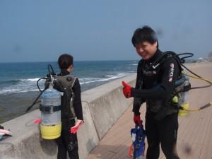 2013.05.20 砂辺ビーチ ライセンス講習