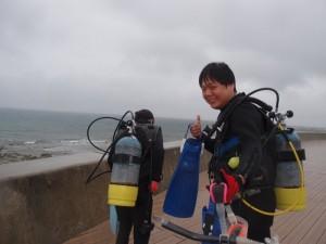 2013.05.21 砂辺ビーチ ライセンス講習