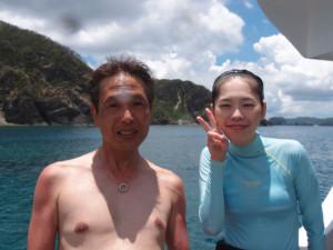 2013.07.09 慶良間ボートファン
