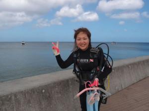 2013.07.11 砂辺ビーチ ファンダイビング