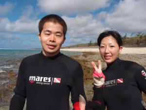 2013.07.14 大度ビーチ 体験ダイビング