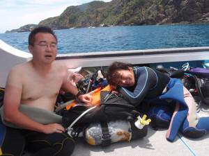 2013.07.29 慶良間ボート ファンダイビング