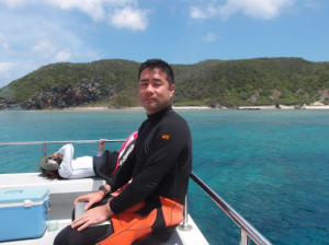 2013.08.31 慶良間ボート ファンダイビング