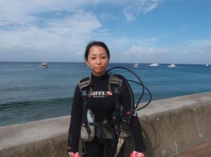 2013.09.20 砂辺ビーチ リフレッシュダイビング