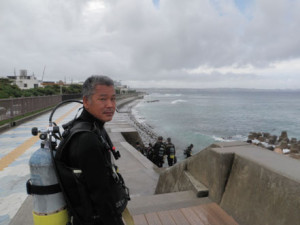 2013.09.21 砂辺ビーチ アドバンス講習