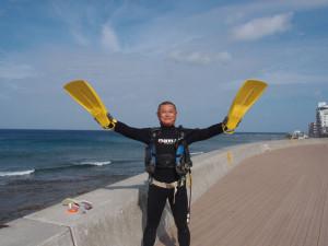2013.09.28 砂辺ビーチ ファンダイビング