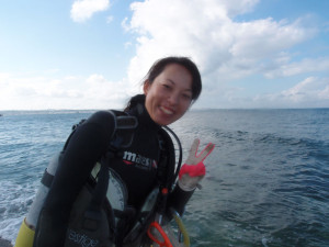 2013.10.19 砂辺ビーチ オープン・ウォーター・ダイバー講習