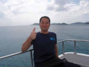 2013.10.27 慶良間ボート ファンダイビング