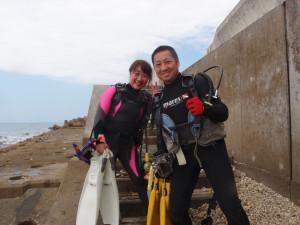 2013.10.28 砂辺ビーチ ファンダイビング