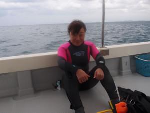 2013.10.29 宜野湾ボート ファンダイビング