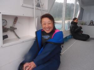 2013.10.31 慶良間ボート ファンダイビング