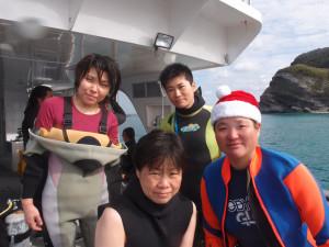 2013.12.23 慶良間ボートファンダイビング