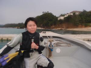 2013.12.25 大浦湾ボートファンダイビング