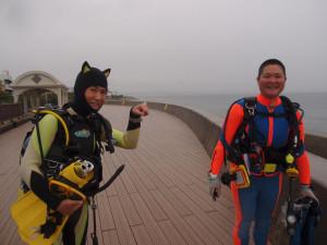 2013.12.26 砂辺ビーチ DM講習