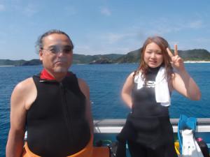 2014.02.22 慶良間ボート ファンダイビング