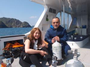 2014.02.23 慶良間ボート ファンダイビング