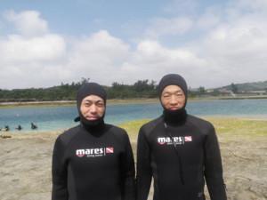 2014.03.30 奥武島ビーチ オープンウォーターダイバーコース