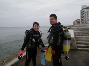 2014.05.07 砂辺ビーチ OWD講習&ファンダイビング