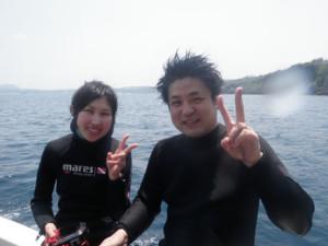 2014.05.03 真栄田・山田ボート ファンダイビング