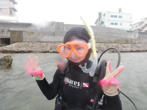 2014.05.13 砂辺ビーチ OWD講習