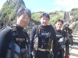 2014.06.07 真栄田岬ビーチ ファンダイビング