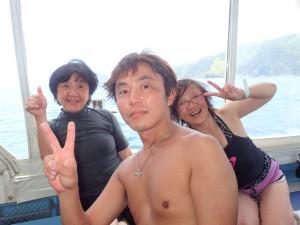 2014.06.26 慶良間ボート ファンダイビング