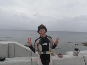 2014.06.09 砂辺ビーチ ファンダイビング