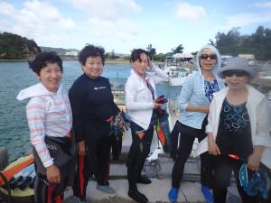 2014-06-21 真栄田岬ボート 体験&ファンダイビング