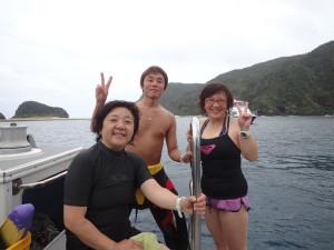 2014.06.25 慶良間ボート ファンダイビング