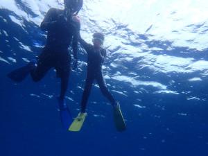 2014-07-30 砂辺ビーチ スキンダイビング&スノーケルコース