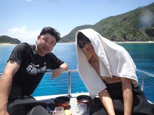 2014.07.26 慶良間ボート ファンダイビング