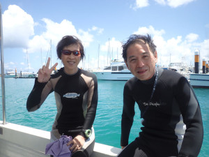 2014.07.27 宜野湾ボート ファンダイビング