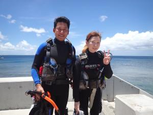 2014-07-29 砂辺ビーチ ファンダイビング