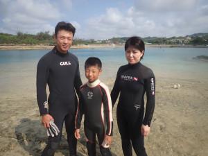 2014.08.10 奥武島ビーチ 体験&付き添いダイビング