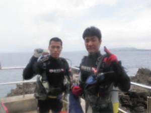 2014.08.12 真栄田岬ビーチ 体験ダイビング