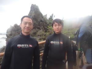 2014.08.15 真栄田岬 体験ダイビング