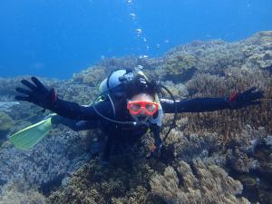 2014.09.18 砂辺ビーチ 体験ダイビング