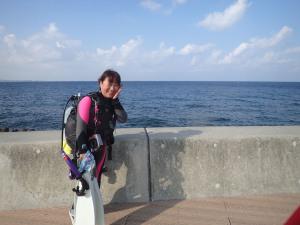 2014.09.27 砂辺ビーチ ファンダイビング