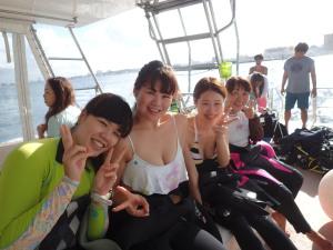 2014.09.28 慶良間ボート ファンダイビング