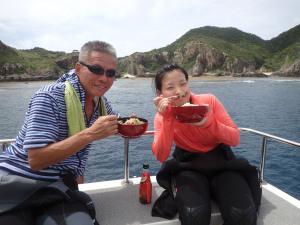 2014.09.22 慶良間ボート ファンダイビング