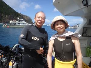 2014.09.15 慶良間ボート ファンダイビング