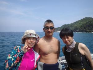 2014.09.13 慶良間ボート ファンダイビング