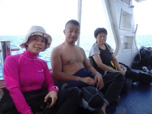 2014.09.14 渡名喜遠征 ボートファンダイビング