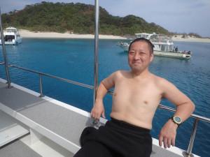 2014.10.27 慶良間ボート ファンダイビング