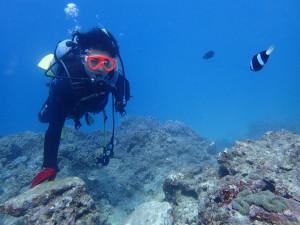 2014.10.18 砂辺ビーチ 体験ダイビング