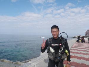 2014.10.25 砂辺ビーチ OWDコース