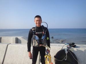2014.10.18 砂辺ビーチ OWD講習