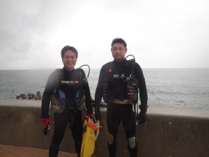 2014.11.08 砂辺ビーチ ファンダイビング